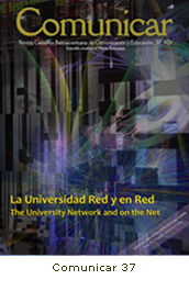 Revista Comunicar 37: La Universidad Red y en Red